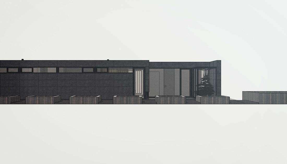 architectuur duurzame bungalow