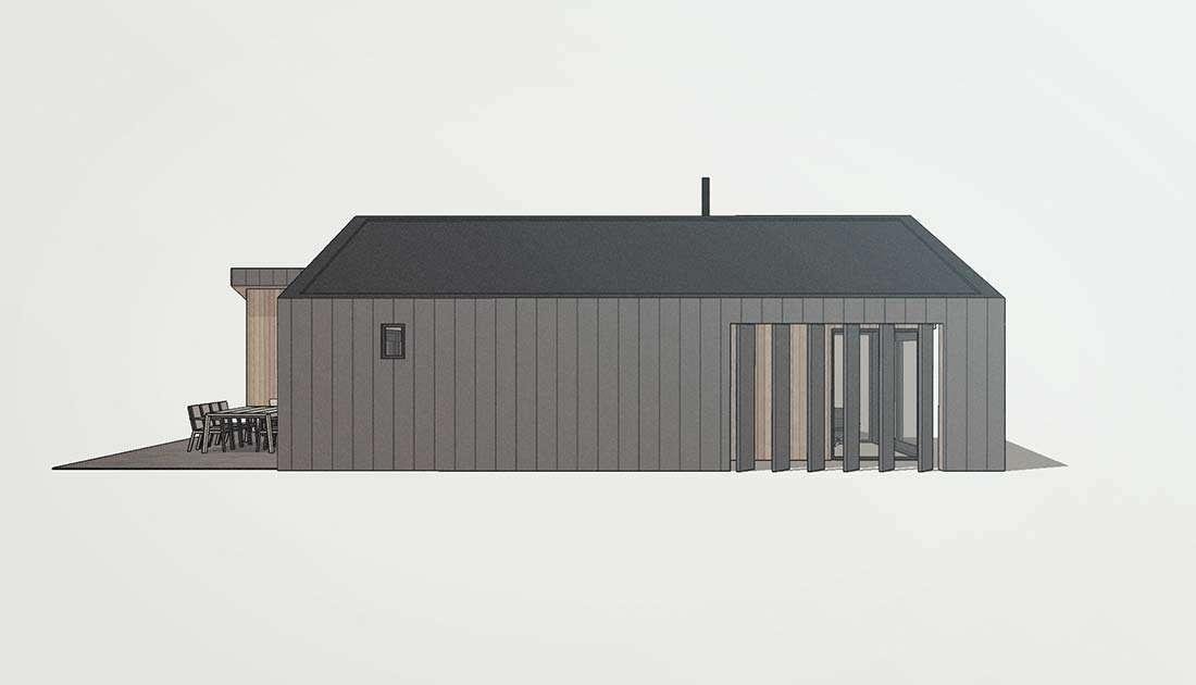 houten bungalow woning